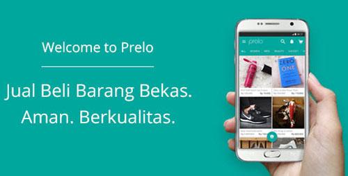 Aplikasi Prelo : Jual Beli Barang BekasOnline